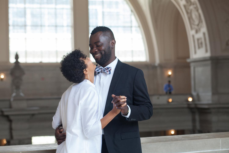 Jacques and Maya's San Francisco Wedding